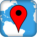 Map coordinate icon