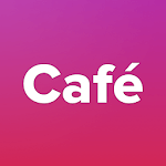 Cafe - connecting people all around the world! icon