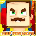Hello Springe Neighbor Maps  & MODS  for MCPE! icon