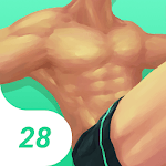 Muscle & Fitness in 28 Days APK icon