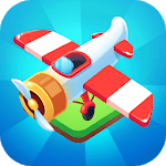 Plane Aircraft Merge - Idle Plane Coin Maker APK icon
