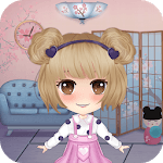 Anime Doll House Decoration Games icon