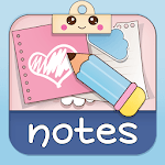 Cute Sticky Notes Widget APK icon