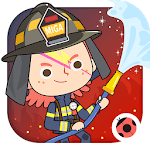 Miga Town: My Fire Station icon