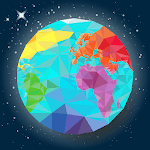 World map geography, capitals, flags, countries for pc icon