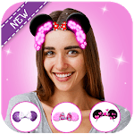 minni mouse camera photo : cute micky sticker for pc icon