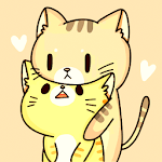 Wiggle Cat -  Free Connect Match 3 Game icon