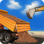 Excavator Truck Transport Jobs icon