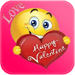 Valentine Love Emoji icon
