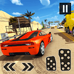 Fearless Driver Highway Traffic Car Racing Game icon