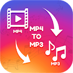 Video to mp3-Mp3 converter,mp4 to mp3 icon