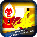 How to Draw Ben10 All Aliens Step by Step icon