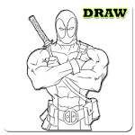How To Draw Super Hero Characters icon