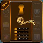 Stylish Door Lock screen: Secure Screen With Lock icon