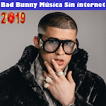 Bad Bunny Musica sin internet 2019 icon