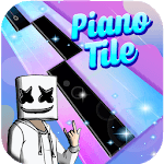 Piano Marshmello Magic Tiles icon