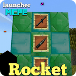 Rocket Launcher Addon for MCPE icon