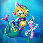 Sea Monster Evolution: Cute Mermaid Clicker icon