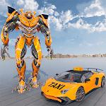 Robot Car Taxi: Future Robot Taxi Transporter game icon