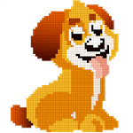 Dogs Color by Number - Pixel Art, Sandbox Coloring icon