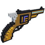 Guns 3D Color by Number - Weapons Voxel Coloring icon