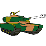 Guns Color by Number - Weapons Coloring Book Pages icon