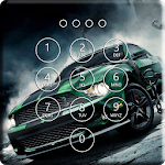 Real Racing Cars Lock Screen & Wallpaper icon