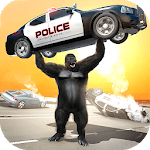 Monster Gorilla Rampage Apes Family Simulator for pc icon