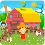 Countville-farming game for kids with counting icon