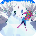 Racing in Mountain Ski 2019: Top Hill Skiing Racer for pc icon