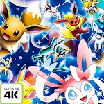 Eevee Evolution HD Wallpaper Unlock Screen icon
