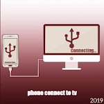 Phone Connector To TV Usb(hdmi/otg/mhl/wifi) icon