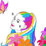 Coloring Fun : Color by Number Games icon