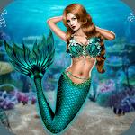 Mermaid Simulator: Underwater & Beach Adventure for pc icon