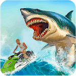 Shark Simulator 2019: Beach & Sea Attack icon
