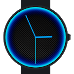 Carbon Neon Watch Face icon