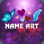 Heart Name Art: Focus Filter & Wallpaper Maker icon