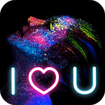 Neon Light Photo Effects for pc icon