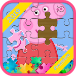 Peppa pigg jigsaw puzzle 2019 icon