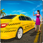 Limo Taxi Driver Simulator : City Car Driving Game for pc icon