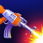 Fly the Gun - Flip Weapons Flippy Simulator Game icon