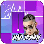 Bad Bunny - Piano Tiles Song icon