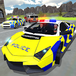 UK Police Car Crime Driving APK icon