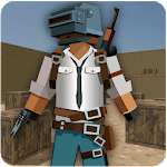 Pixel Pibg Gun FPS Commando Royale known Survival icon