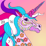 Premium Coloring Book - color by number, coloring for pc icon