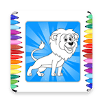 Kids Coloring Book Fun Game icon