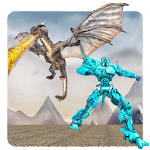 Flying Dragon Robot Simulator :Transformation War icon