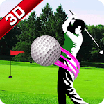 Top Real Star Golf Master 3D icon