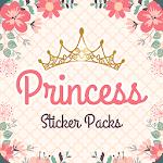 Magic King Princess Stickers for WhatsApp icon