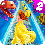 Princess Run Temple Dragon Escape 2 icon